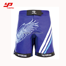 Wholesale custom made fighting short sublimated printed mma shorts