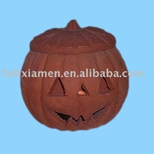 Halloween <span class=keywords><strong>abóbora</strong></span> de barro decorativas