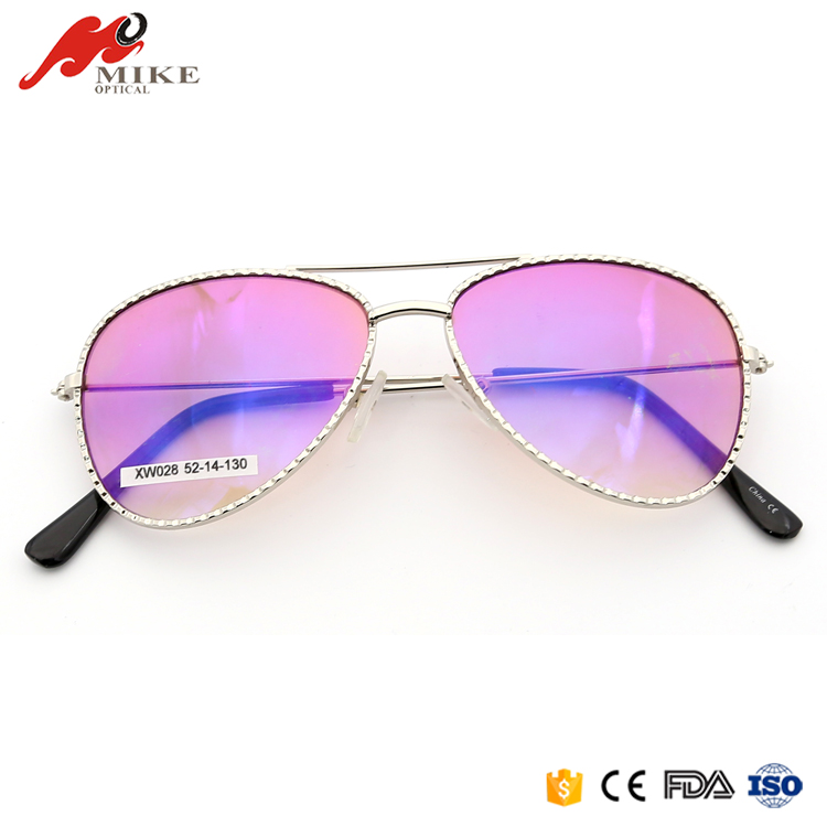 China Factory Distributor Wholesale Fashion Pink Aviator Sunglasses