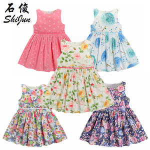 ShiJun 2019 Dubai Market Elegant Kid Frock 2-10 Year Child Clothes Girl Dress