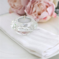 Factory wedding favors crystal tealight candle holder