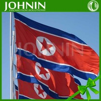 Wholesale Direct Supply By Factory Flying North Korean Flag New