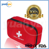 OEM small and light first aid kit red nylon medical bag emergency survival kit for travel car camping hiking
