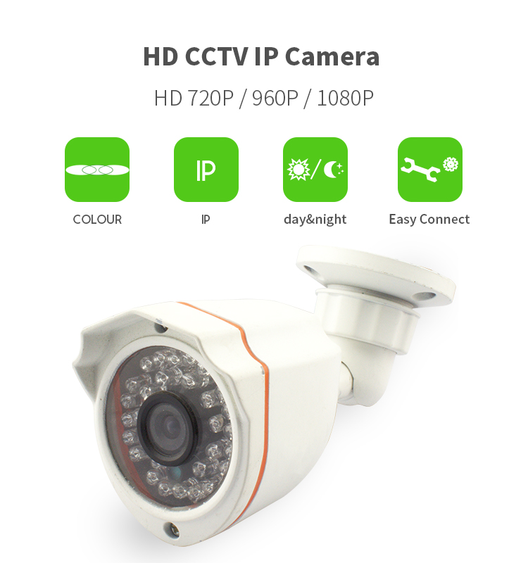 Vitevison optional 1mp 2mp full hd ir waterproof small outdoor axis ip camera