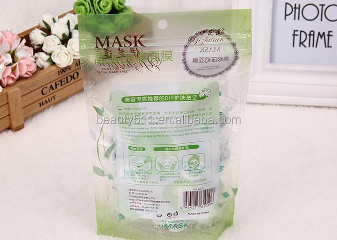 Wholesale 50pc Disposable 100%Cotton Candy Compressed mask Mask paper DIY