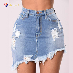 women sexy short jeans with lace Floral skinny sexy short pantalones jeans for ladies 2019 wholesales china