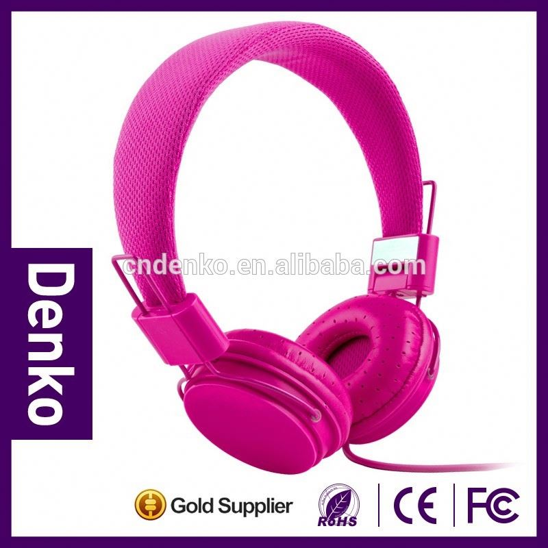 Best Wired stereo headphone on ear style earphone for cell phone