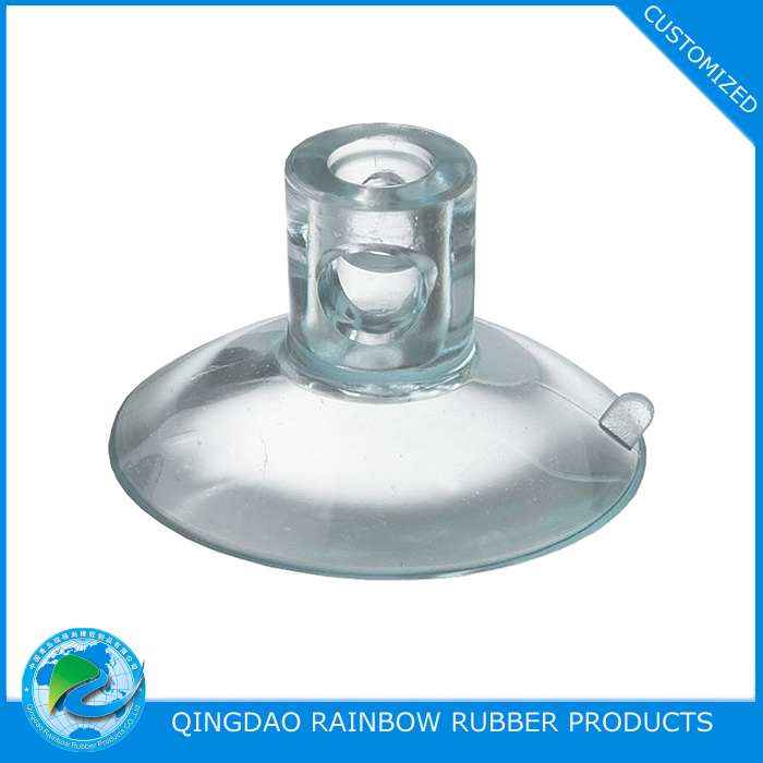 Customized PVC / silicone rubber suction cup from direct manufacturer