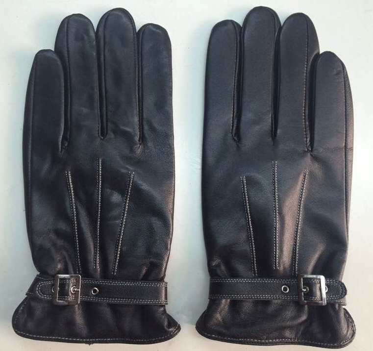 Mens cold weather gloves touch screen for smartphone