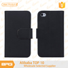 BRG Top Quality Leather Flip Case For iPhone4 With Credit Card Holder