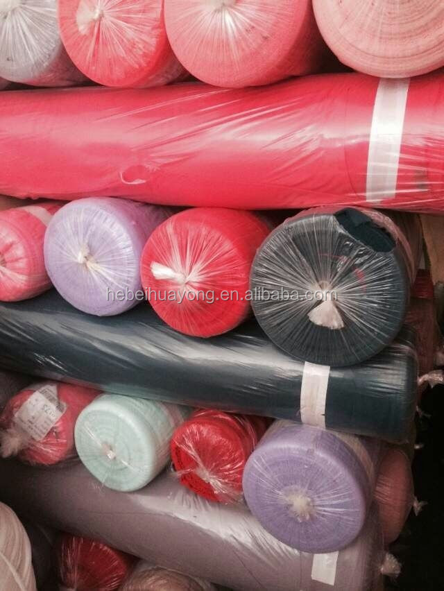 surplus lot 100 polyester dyed pearl chiffon fabric with cheap price