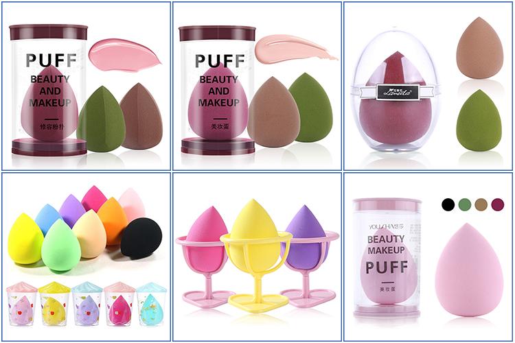 Direct factory powder puff foundation soft blender makeup sponge