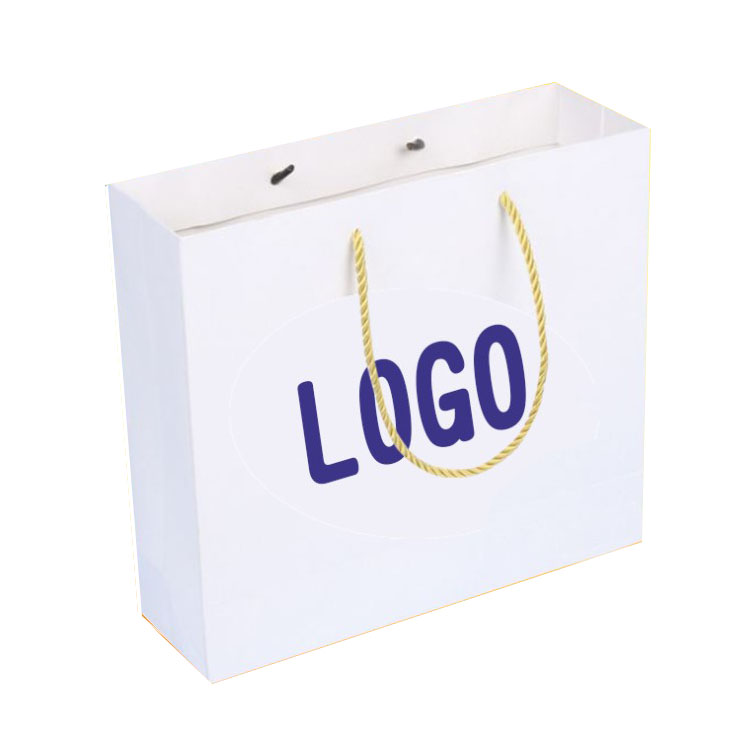 Wholesale Factory Price Trend  Custom Design Shopping Paper Bag with Handle