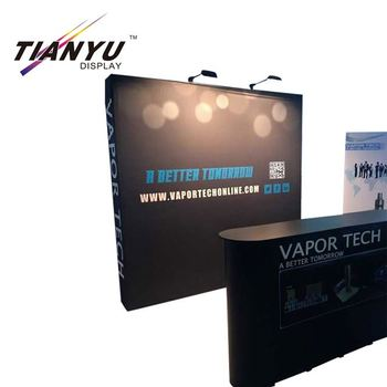 Fabric Exhibition Stand Up : Ty pop up china fabric pvc trade show exhibition pop