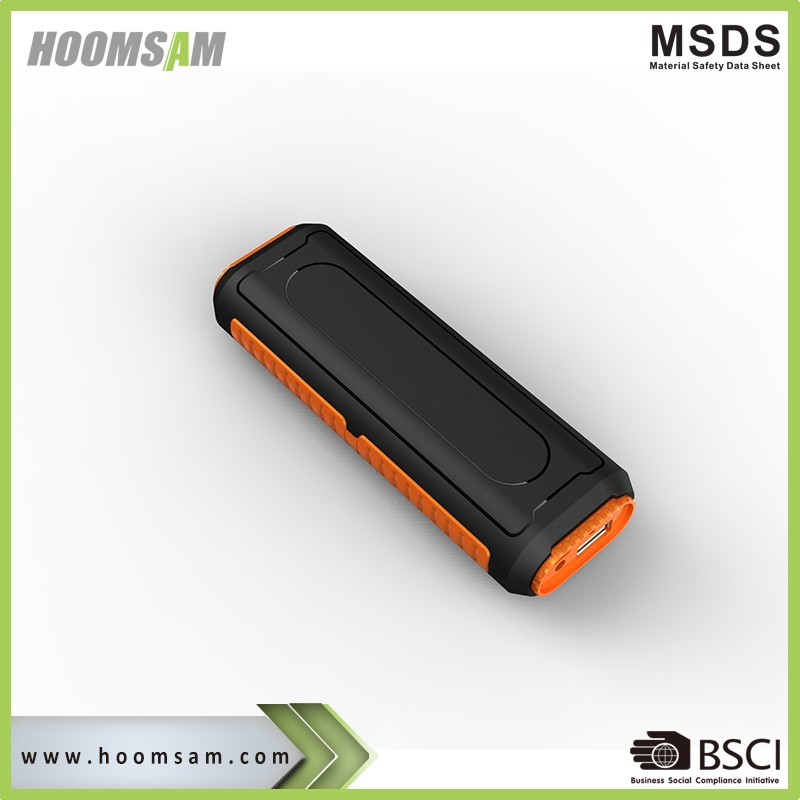 BSCI manufacturer LED Torch power bank wireless speaker 5000mah powerbank speaker