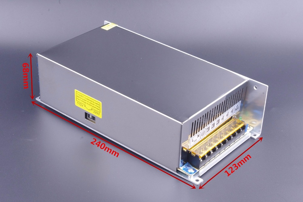 cnc 48V 10.5A 500W DC Regulated Switching Power Supply