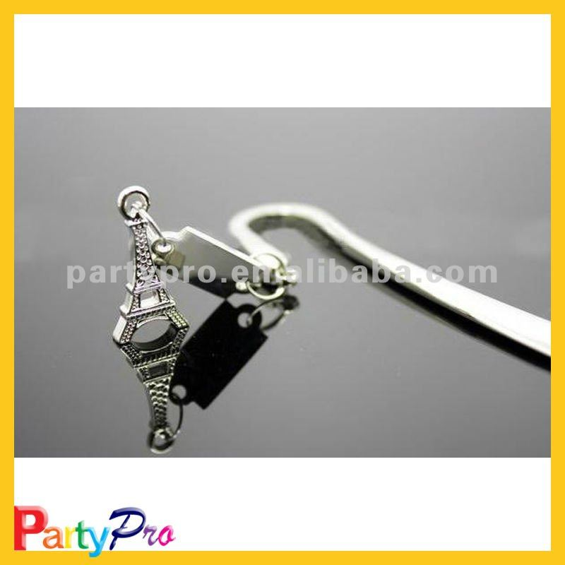 party giveaway gift functional metal bookmark wedding souvenir