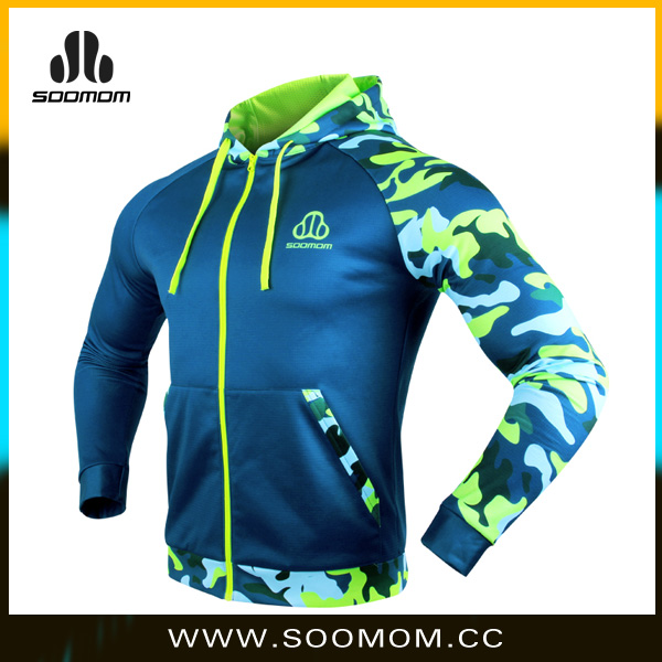 China Manufacture Fleece Hoodies Sportswear Jersey for Ciclismo