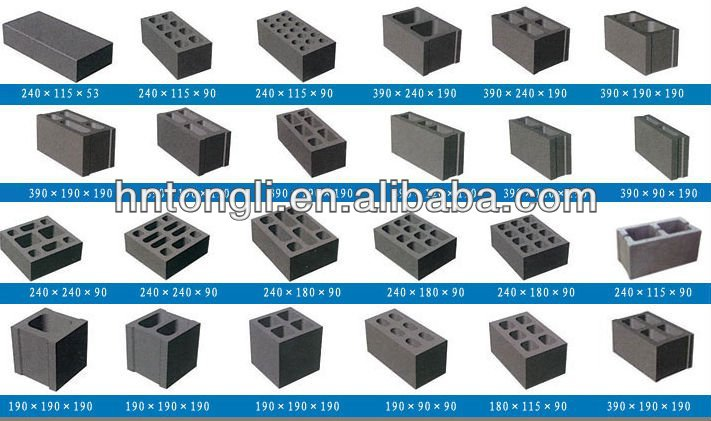 Bloc de b ton machine blocs de ciment faisant la machine for Garage bloc beton