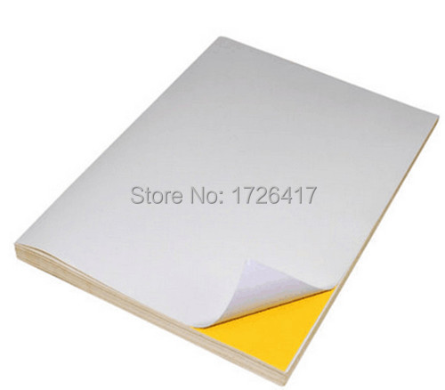 get quotations wholesale a4 blank white coated glossy self adhesive label sticker a4 label paper can be