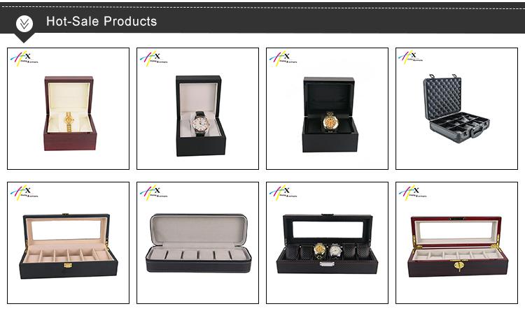 ingrosso su misura personalizzati di lusso in legno orologio da tasca scatola