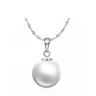 Simple design choker single real pearl pearl jewelry necklace price