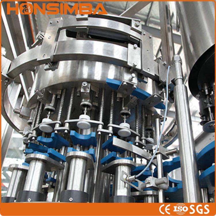 Dhgf50-50-12 Round Wine Bottle Filling Machine Line/alcohol Liquid ...