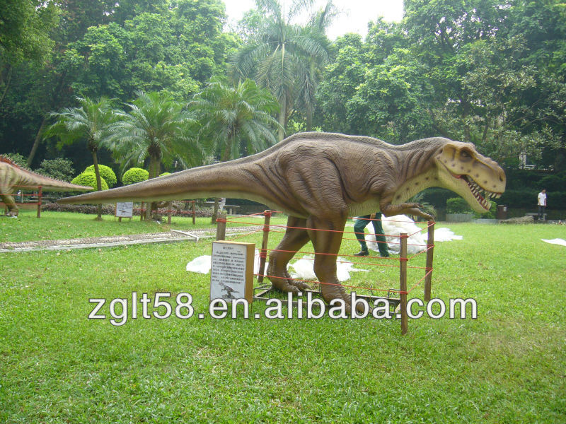Amusement Parks exhibition game coin performing simulation real dinosaur exporters