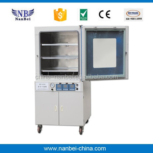 digital display 90L volume laboratory vacuum drying oven