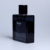 High quality empty black glass perfume bottle for man