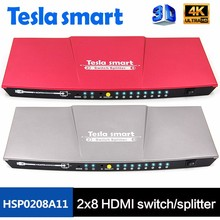 Manufacturer Supplier 4K 2 input 8 output HDMI Switch Splitter OEM/ODM