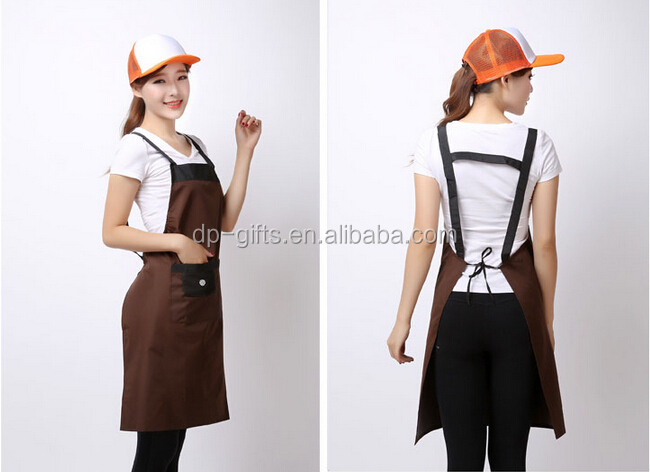 Promotion Polyester Kitchen Custom Apron Waterproof