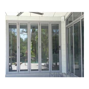 2016 Disegno Caldo Di Vetro Porta A Soffietto Design Esterno Telaio In Alluminio Porta Pieghevole Buy Porta A Libro Porta Per La Casa Design In
