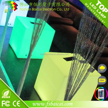 Remote control color change waterproof led ice cube for nightclub, bar
