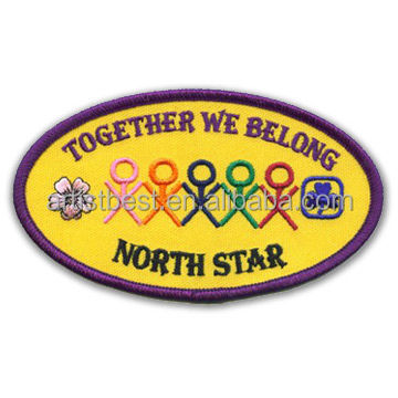 2017 Newest Scouts Stick On Kid Clothes Patch