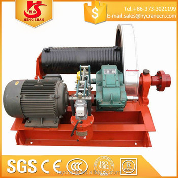 Low Speed Or High Speed Single Drum Crane Electric Winch