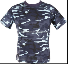 2015 OEM custom design dry fit camo shirt