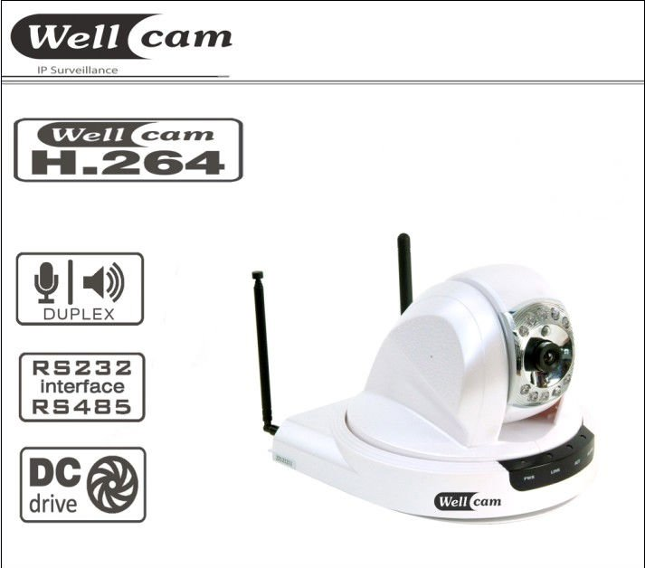 Wireless Pan/Tilt IP camera