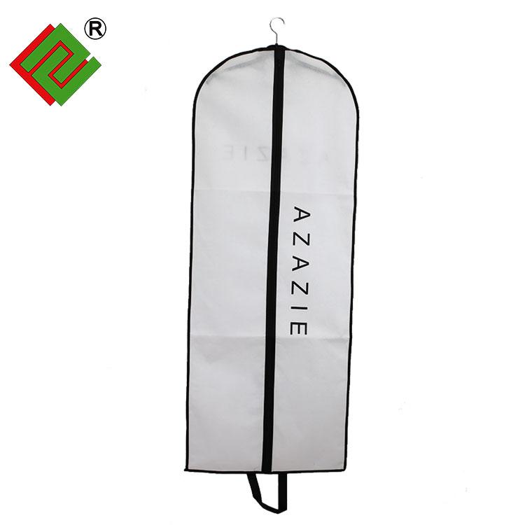 Custom Logo printing 비 짠 foldable 한 벌 cover/한 벌 bag/garment Bag