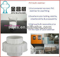 Non toxic PVC Ca/Zn Stabilizer for Pipe fittings