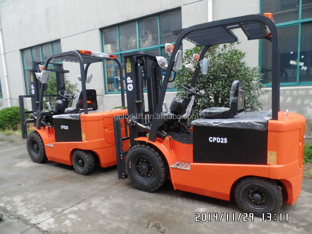 GP brand 1-7 Ton AC powered electric forklift
