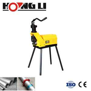 "Hongli New Supply 6"" Pipe Roll Groover, Pipe Grooving Machine With CE (YG6C-A)"