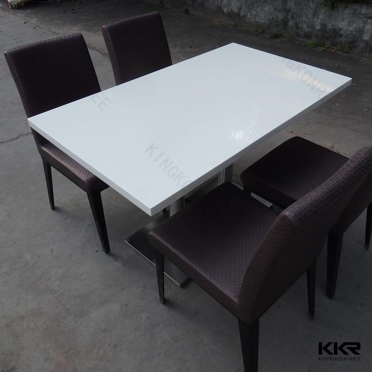 Sparkling White Quartz Round Table Top Buy Quartz Round Table Top - 4 top restaurant table
