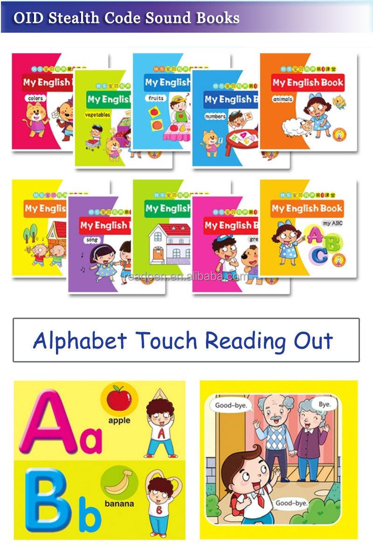 Educational Talking Pen For Children's Studying E Book Reader ...