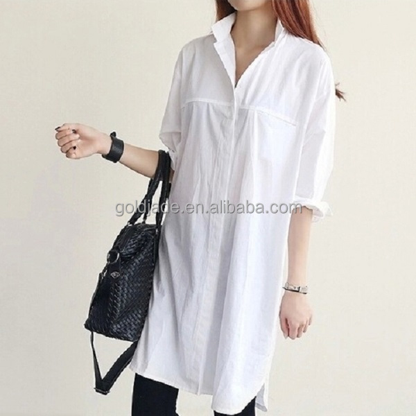 Newest Korean Dresses Skirt And Blouse,Long Sleeve Model Loose ...