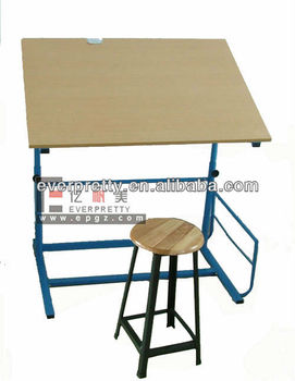 Merveilleux Kids Wood Art Table, Drafting Table For Kids, Art Tables For Schools