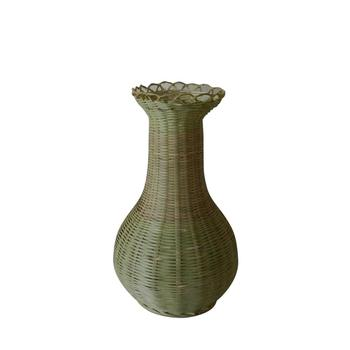 Bamboo Vase For Home Country Natural Settings Dried Floral Or
