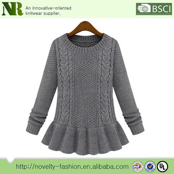 Hand Knitted Sweater Handmade Knit Wool Sweater Designs Knitting