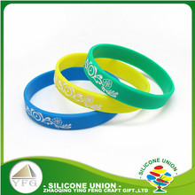 silicone wristbands custom fundraising event top quality