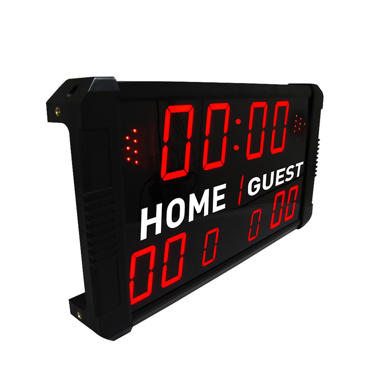 Commercio all'ingrosso portatile mini elettronica interattiva football scoreboard